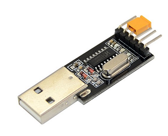 USB -> serial převodník TTL/RS232 CH340G 6Pin